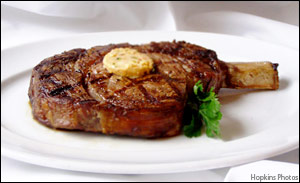 Rib Eye Cowboy Steak