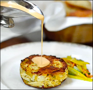 Maryland Jumbo Lump Crab Cake
