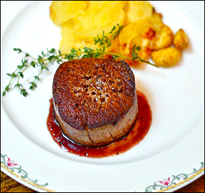 Filet Mignon (Dinner Menu)