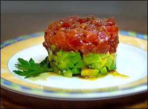 Sushi-Grade Tuna Tartare